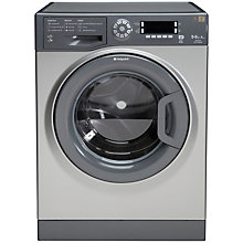 Buy Hotpoint WDUD9640G Washer Dryer, 9kg Wash/6kg Dry Load, A Energy Rating, 1400rpm Spin, Graphite Online at johnlewis.com