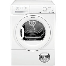 Buy Hotpoint TCFM70C6P Condenser Tumble Dryer, 7kg Load, C Energy Rating, White Online at johnlewis.com