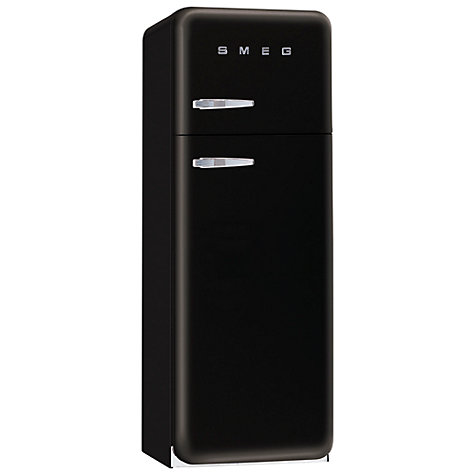 Buy Smeg FAB30QNE Fridge Freezer, A+ Energy Rating, 60cm Wide, Black Online at johnlewis.com