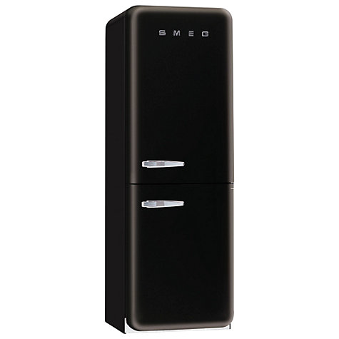 Buy Smeg FAB32QNE Fridge Freezer, A+ Energy Rating, 60cm Wide, Black Online at johnlewis.com