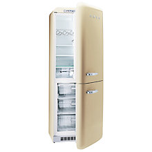 Buy Smeg FAB32QP Fridge Freezer, A+ Energy Rating, 60cm Wide, Cream Online at johnlewis.com