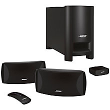 Buy Bose CineMate II, 2.1 Home Cinema Speaker System with Philips BDP2980/12 3D Blu-ray/DVD Player Online at johnlewis.com