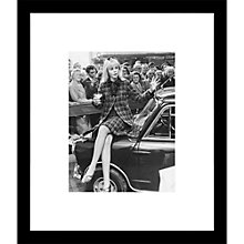 Buy Getty Image Gallery Britt Ekland's Mini Framed Print, 57 x 49cm Online at johnlewis.com