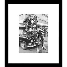 Buy Getty Images Gallery Kiss 10th May 1976 Framed Print, 57 x 49cm Online at johnlewis.com