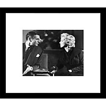 Buy Getty Images Gallery Marilyn Monroe And Laurence Olivier Framed Print, 49 x 57cm Online at johnlewis.com