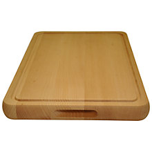 Buy John Lewis Beech Chopping Board, Large Online at johnlewis.com