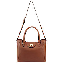 Buy Whistles Burlington Shoulder Handbag, Tan Online at johnlewis.com