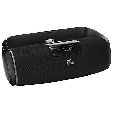 Buy JBL OnBeat aWake Wireless iPod Dock, Black Online at johnlewis.com