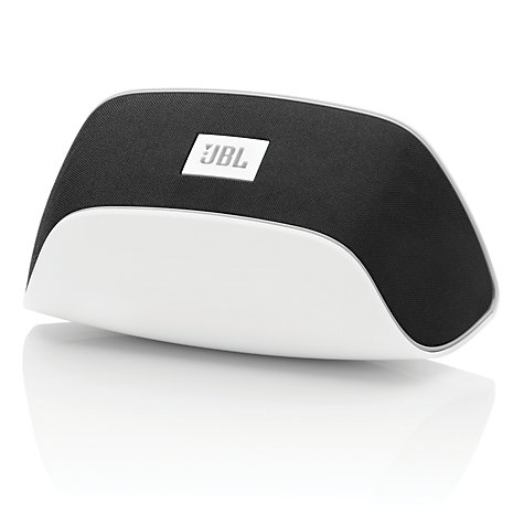 Buy JBL SoundFly AP Wireless Speaker with Apple AirPlay, White/Black Online at johnlewis.com