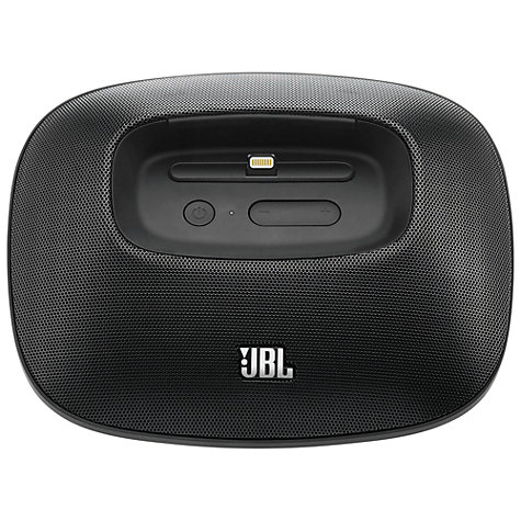 Buy JBL OnBeat Micro iPod Dock with Apple Lightning, Black Online at johnlewis.com