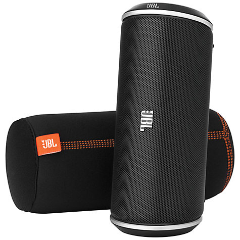 Buy JBL FLIP Bluetooth Wireless Speaker, Black Online at johnlewis.com