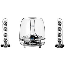 Buy Harman Kardon SoundSticks Wireless 2.1 Desktop Speaker System Online at johnlewis.com