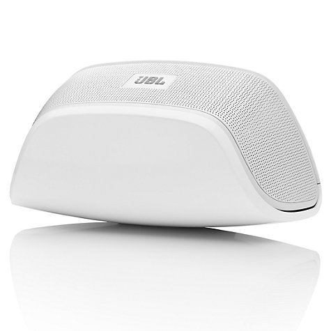Buy JBL SoundFly BT Wireless Speaker, White Online at johnlewis.com