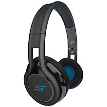 Buy SMS Audio STREET by 50 Cent On-Ear Headphones, Black Online at johnlewis.com