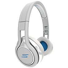 Buy SMS Audio STREET by 50 Cent On-Ear Headphones, White Online at johnlewis.com