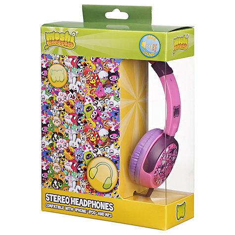Buy Moshi Monsters Children's Noise Limiting On-Ear Headphones Online at johnlewis.com