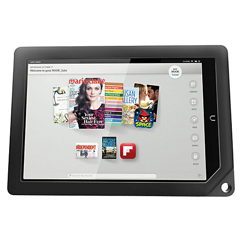 "Buy NOOK HD+ Tablet, TI OMAP, 9"", Wi-Fi, 16GB, Slate Online at johnlewis.com"