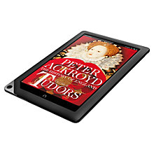 "Buy NOOK HD+ Tablet, TI OMAP, 1.5GHz, 9"", Wi-Fi, 32GB, Slate Online at johnlewis.com"