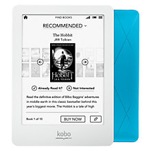 Buy Kobo Glo eReader, 6-inch, Blue Online at johnlewis.com