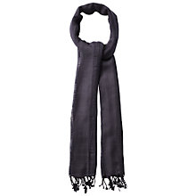 Buy White Stuff Lately Lane Scarf, Seal Grey Online at johnlewis.com