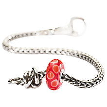 Buy Trollbeads Luck & Joy Charm Bead and Bracelet Online at johnlewis.com