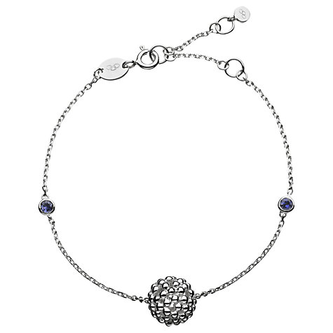 Buy Links of London Sterling Silver Effervescence Bubble and Iolite Bracelet Online at johnlewis.com