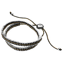 Buy Links of London Double Wrap Adjustable Friendship Bracelet Online at johnlewis.com