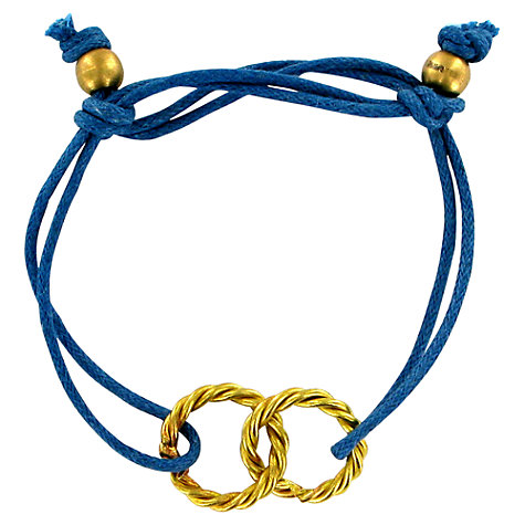Buy Made Tuthiururi Cord Twisted Ring Friendship Bracelet Online at johnlewis.com