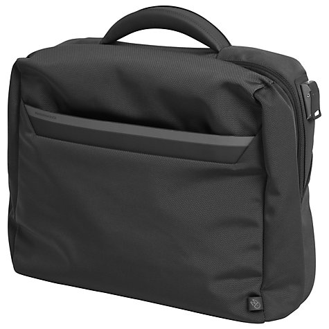 "Buy Mandarina Duck Work 15.6"" Laptop Briefcase, Black Online at johnlewis.com"