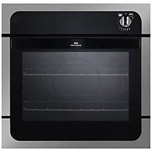 Buy New World NW601G Single Gas Oven with Electric Grill, Stainless Steel Online at johnlewis.com