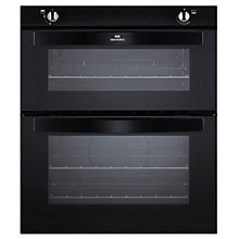 Buy New World NW701G Twin Cavity Gas Oven, Black Online at johnlewis.com
