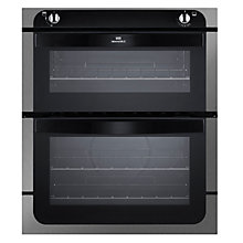 Buy New World NW701G Twin Cavity Gas Oven, Stainless Steel Online at johnlewis.com
