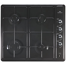 Buy New World NWGHU601 Gas Hob, Black Online at johnlewis.com
