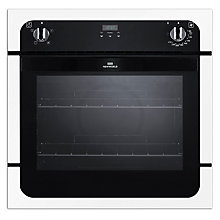 Buy New World NW601FP Single Electric Oven, White Online at johnlewis.com