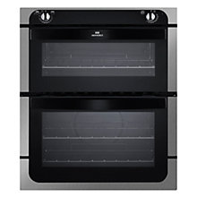 Buy New World NW701DO Double Built-Under Electric Oven, Stainless Steel Online at johnlewis.com