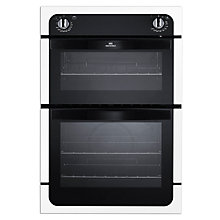 Buy New World NW901DO Double Electric Oven, White Online at johnlewis.com