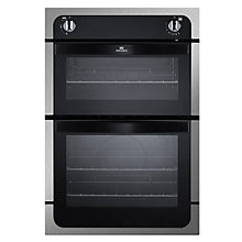 Buy New World NW901G Twin Cavity Gas Oven, Stainless Steel Online at johnlewis.com