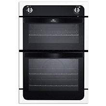 Buy New World NW901G Twin Cavity Gas Oven, White Online at johnlewis.com