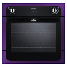 Buy New World NW601FP Single Electric Oven, Purple Online at johnlewis.com
