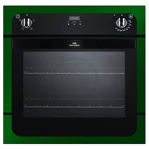 Buy New World NW601FP Single Electric Oven, Green Online at johnlewis.com
