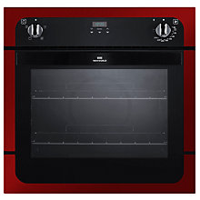 Buy New World NW601FP Single Electric Oven, Red Online at johnlewis.com