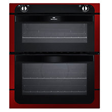 Buy New World NW701DO Double Built-Under Electric Oven, Red Online at johnlewis.com
