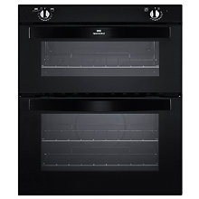 Buy New World NW701DO Double Built-Under Electric Oven, Black Online at johnlewis.com