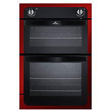Buy New World NW901DO Double Electric Oven, Red Online at johnlewis.com