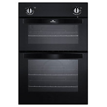Buy New World NW901DO Double Electric Oven, Black Online at johnlewis.com