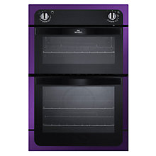 Buy New World NW901DO Double Electric Oven, Purple Online at johnlewis.com