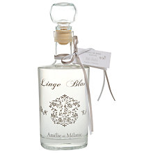 Buy Amelie et Melanie White Linen Bath Oil, 300ml Online at johnlewis.com