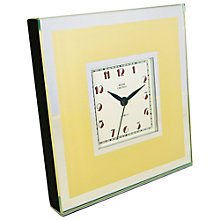 Buy Lascelles Deco Square Mantel Clock Online at johnlewis.com