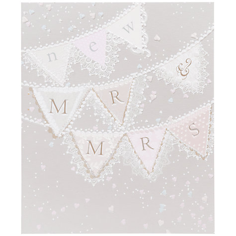 Buy Woodmansterne Tying the Knot Wedding Card Online at johnlewis.com