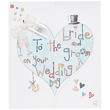 Buy Rachel Ellen Bride and Groom Wedding Card Online at johnlewis.com